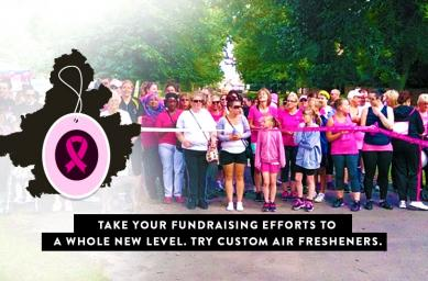 Take Your Fundraising Efforts to A Whole New Level. Try Custom Air Fresheners