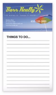50 Sheets - Magnet Notepad for Fridge | Promotional Products