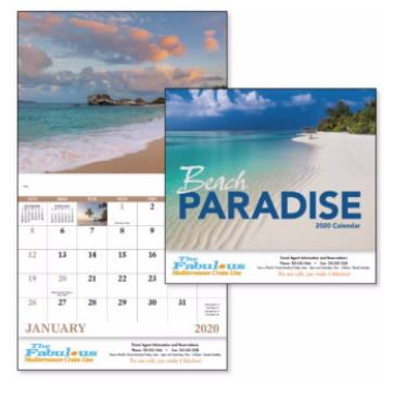Custom Calendar - Stapled | Promotional & Personalized Products