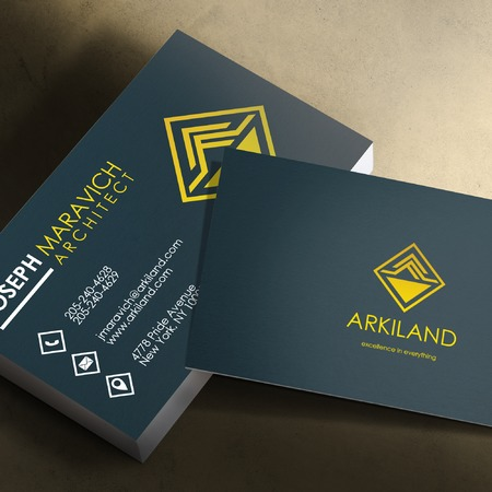 Silk Coated Custom Business Cards | Promotional & Personalized Products