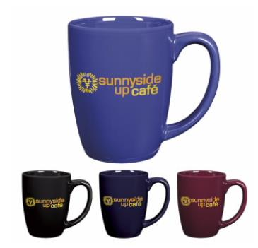 Bistro Coffee Mug - 12 oz. - Custom Printed | Promotional Products