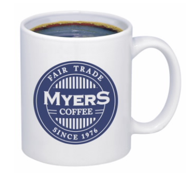 COFFEE MUG - WHITE - 11 oz