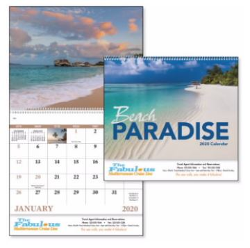 Calendar Spiraled | Promotional & Personalized Air Freshener Items