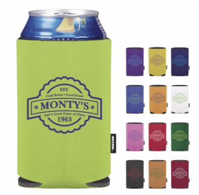 KOOZIE- COLLAPSIBLE CAN COOLER