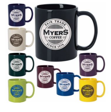 COFFEE MUG - COLOR - 11 oz