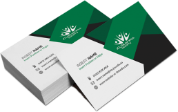 Business Cards - UV Gloss | Promotional & Personalized Air Freshener Items
